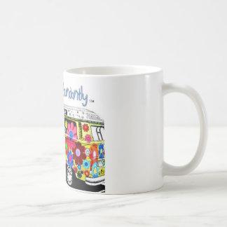 Taza De Café Envejecimiento abundante de Hippie Van Mug