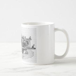 Taza De Café Ephemeras antiguas del vintage de la herramienta