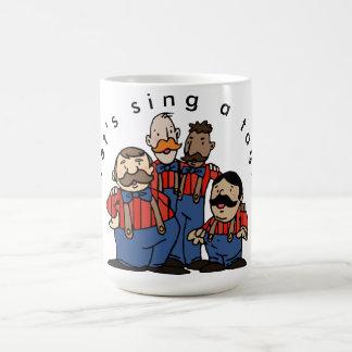 Taza De Café Equipo Trois de la etiqueta