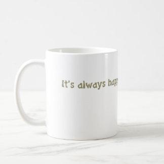 Taza De Café es siempre hora feliz @ la biblioteca