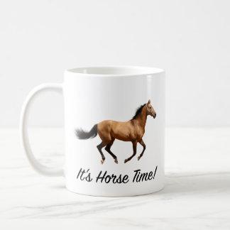 Taza De Café Es tiempo del caballo