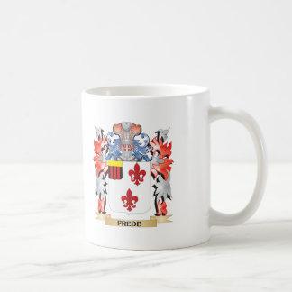 Taza De Café Escudo de armas de Frede - escudo de la familia