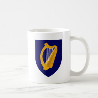 Taza De Café Escudo de armas de Irlanda - emblema irlandés