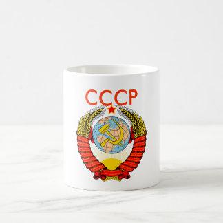 Taza De Café Escudo de armas de la Unión Soviética, CCCP