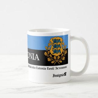 Taza De Café Escudo de armas de los símbolos nacionales de