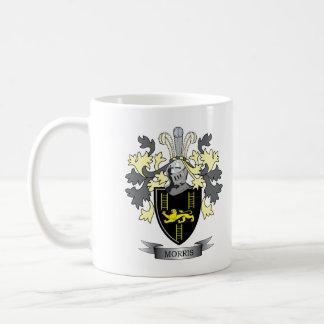 Taza De Café Escudo de armas del escudo de la familia de Morris