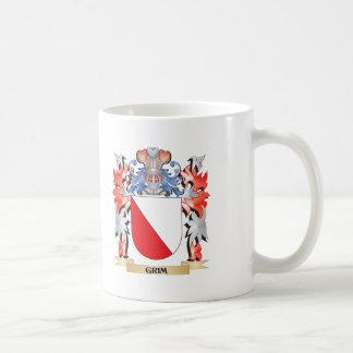 Taza De Café Escudo de armas severo - escudo de la familia