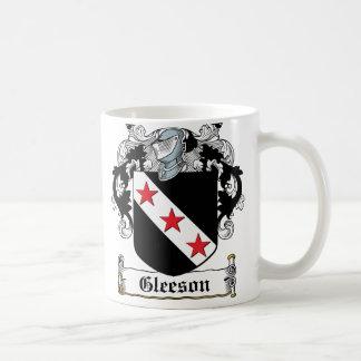 Taza De Café Escudo de la familia de Gleeson