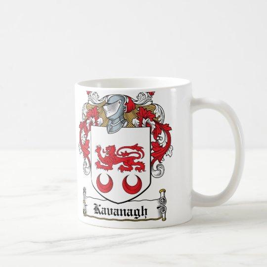 Taza De Café Escudo de la familia de Kavanaugh