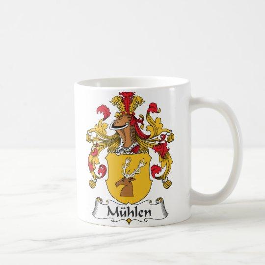 Taza De Café Escudo de la familia de Muhlen