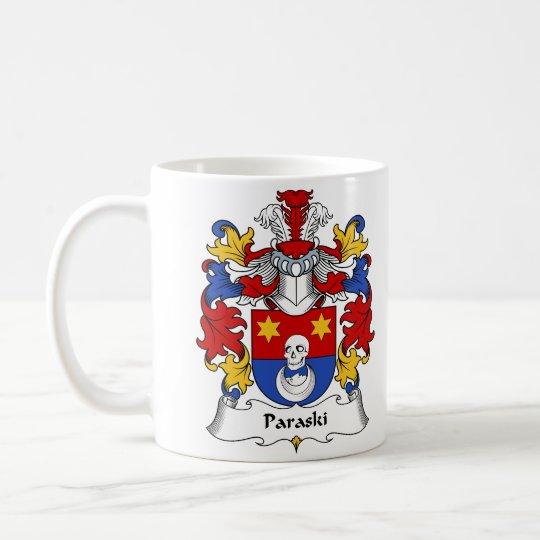 Taza De Café Escudo de la familia de Paraski