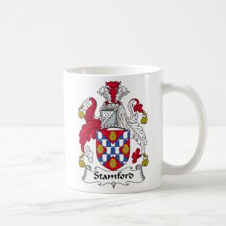 Taza De Café Escudo de la familia de Stamford