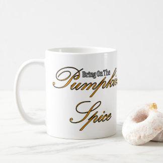 Taza De Café Especia de la calabaza