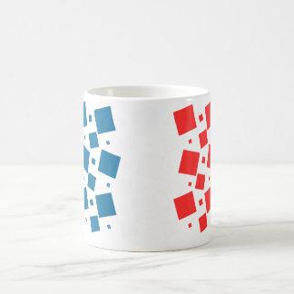 Taza De Café Espejo inspirado por la bandera de Francia