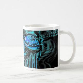 Taza De Café Esqueletos del hielo del invierno