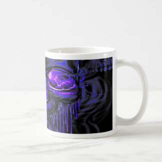 Taza De Café Esqueletos púrpuras de Nerpul