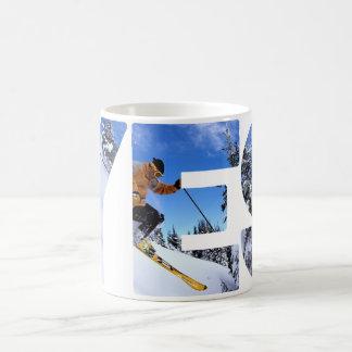 Taza De Café Esquí