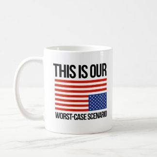 Taza De Café Ésta es nuestra situación del peor caso - el