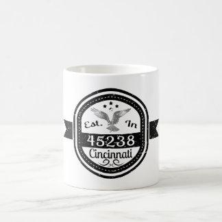 Taza De Café Establecido en 45238 Cincinnati