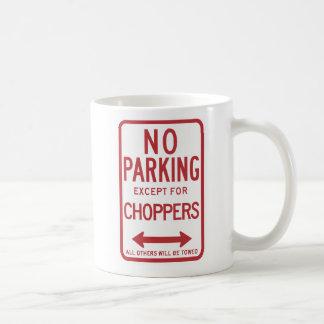 Taza De Café Estacionamiento prohibido a excepción de la