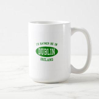 Taza De Café Estaría bastante en Dublín, Irlanda