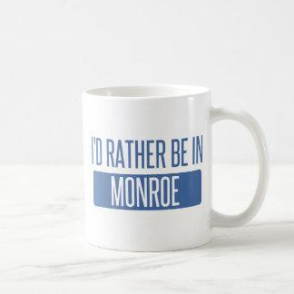 Taza De Café Estaría bastante en Monroe