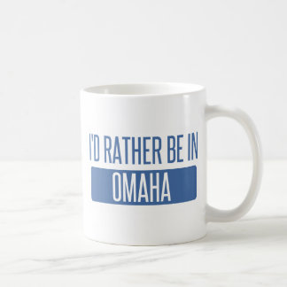 Taza De Café Estaría bastante en Omaha