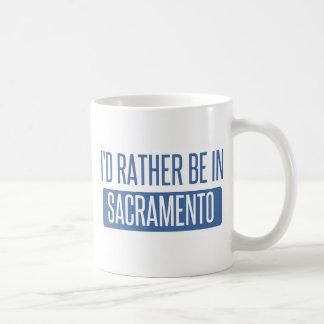Taza De Café Estaría bastante en Sacramento