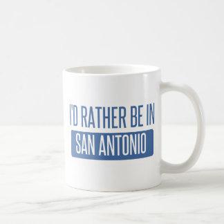 Taza De Café Estaría bastante en San Antonio