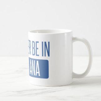 Taza De Café Estaría bastante en Santa Ana