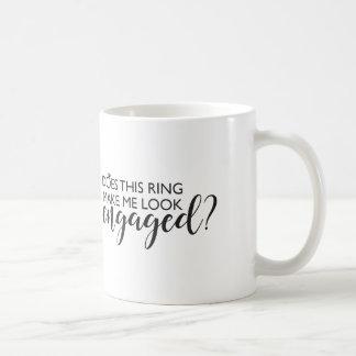 Taza De Café ¿Este anillo hace que parece enganchado?