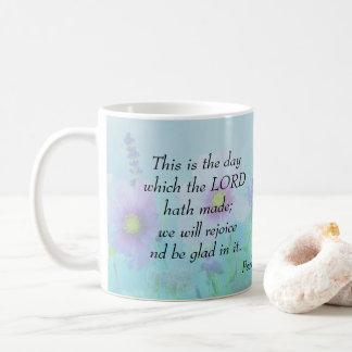 Taza De Café Éste es el día, 118:24 de los salmos