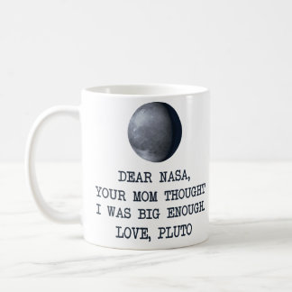 Taza De Café Estimado amor Plutón de la NASA