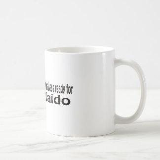 Taza De Café Estoy siempre listo para Iaido.