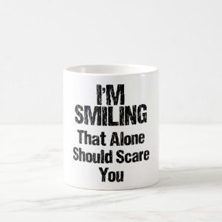 Taza De Café Estoy sonriendo - divertido