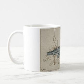 Taza de café estupenda del F-100 SABRE