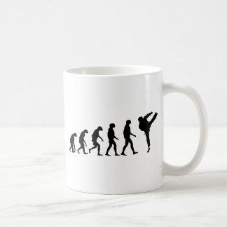 Taza De Café Evolución del karate