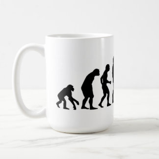 Taza De Café Evolución del ordenador