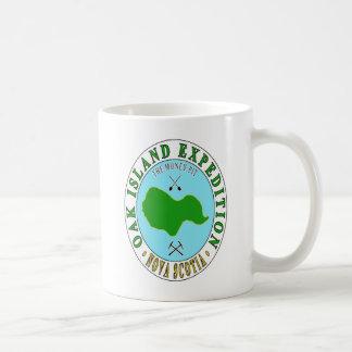 Taza De Café Expedición del hoyo del dinero de la isla del