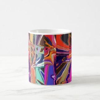 Taza De Café Extracto abstracto del payaso