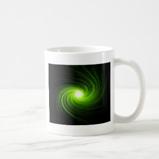 Taza De Café Extracto verde del remolino