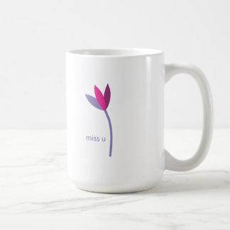 Taza De Café fáltele flor
