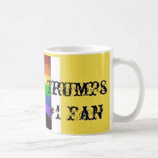 "Taza De Café ""Fan de los triunfos #1 de Donald """