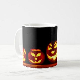 Taza De Café Fantasmagórico de octubre de la Jack-O-Linterna de