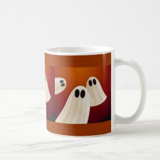 Taza De Café Fantasmas asustadizos