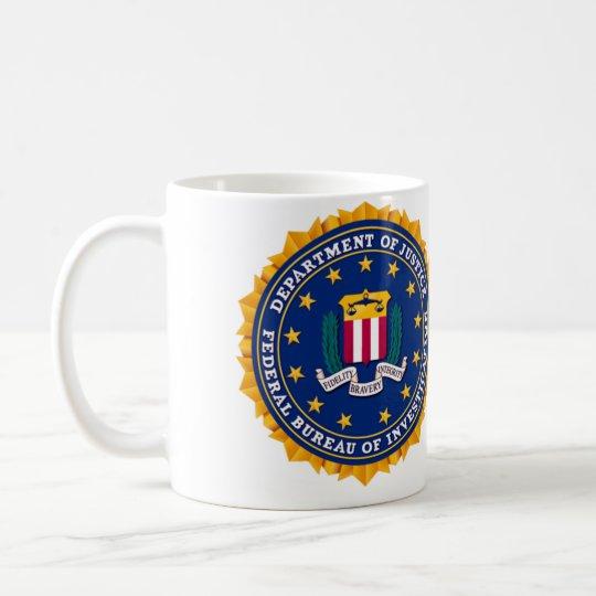 Taza De Café FBI Mug