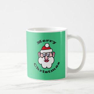 Taza De Café Felices Navidad, navidad Papá Noel