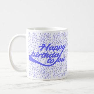 Taza De Café feliz cumpleaños