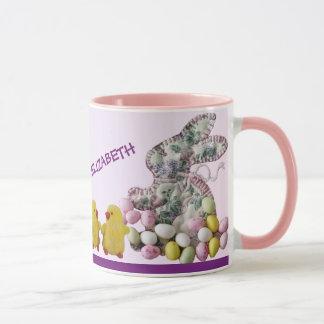 Taza de café feliz de Hippity Hoppity Pascua