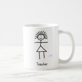Taza De Café Figura genérica divertida linda dibujo animado del